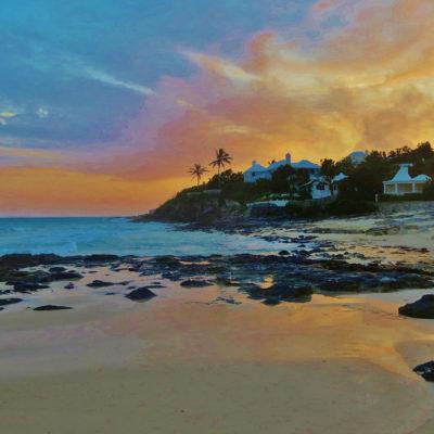 Sunset Grape Bay - 63 - Roland Skinner Bermuda Photography