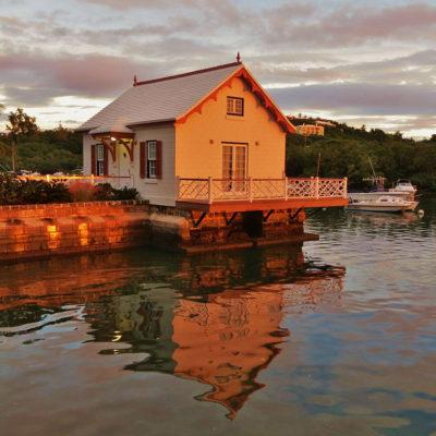 Boathouse Sunset - 64 - Roland Skinner Bermuda Photography