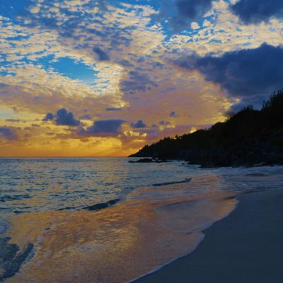 Sunset - Church Bay - 57 - Roland Skinner Bermuda Photography