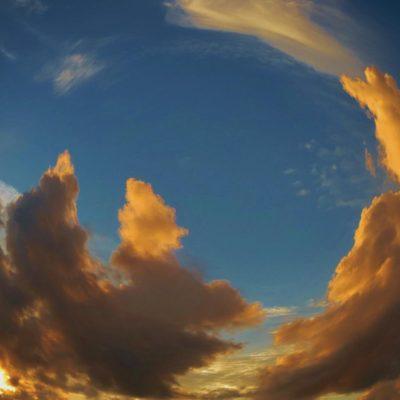 Fisheye Sunset - 62 - Roland Skinner Bermuda Photography