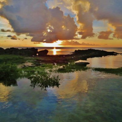 Sunset - Duck's Puddle - 70 - Roland Skinner Bermuda Photography