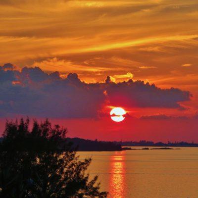 Red Sunset - 136 - Roland Skinner Bermuda Photography
