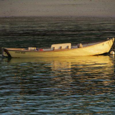 Yellow Boat - 144 - Roland Skinner Bermuda Photography